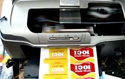Цифровая печать пластиковых карт