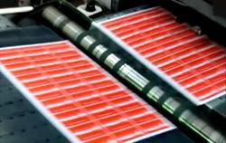 Офсетная печать ламинированных карт